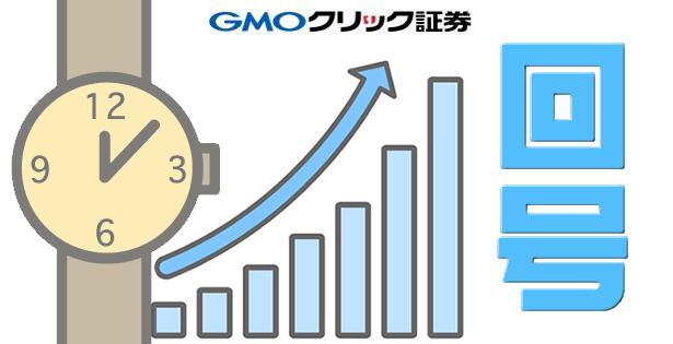 GMOクリック証券の取引時間と回号の関係